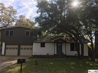 Copperas Cove Single Family Home For Sale: 504 Bowden Avenue