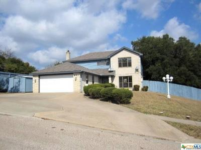 Copperas Cove Single Family Home For Sale: 401 Wild Plum Drive