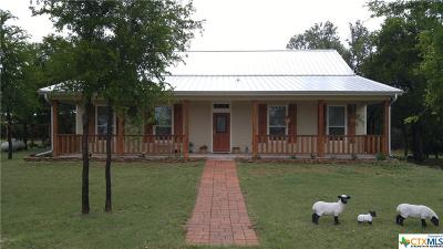 Lampasas County Single Family Home For Sale: 1552 Fm 580