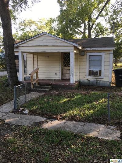 Temple Single Family Home For Sale: 709 Avenue F
