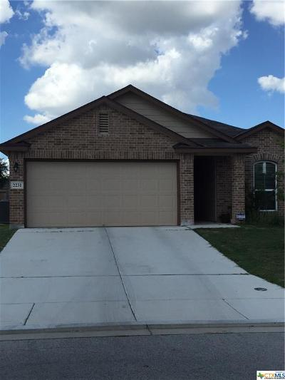 New Braunfels Rental For Rent: 2231 Westover Loop