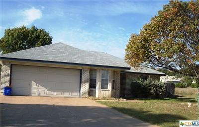 Copperas Cove Single Family Home For Sale: 2209 Mattie Circle