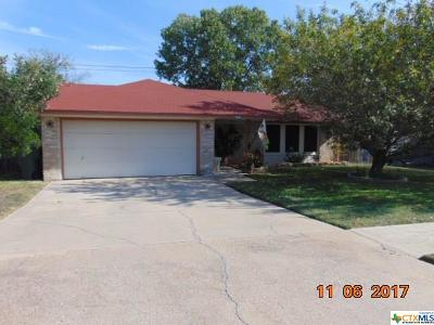 Killeen TX Single Family Home For Sale: $91,500