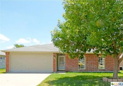 Copperas Cove Single Family Home For Sale: 603 Mesquite Circle