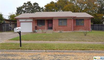 Copperas Cove Single Family Home For Sale: 2508 Post Oak