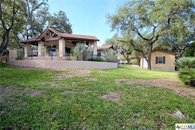 Canyon Lake Single Family Home For Sale: 126 Creekview