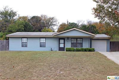 Copperas Cove Single Family Home For Sale: 2007 Josie