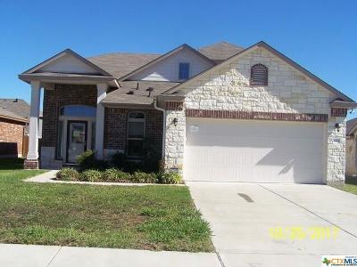 Killeen Single Family Home For Sale: 6402 Creek Land