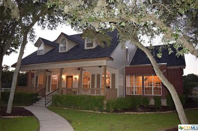 New Braunfels Single Family Home For Sale: 111 Pinnacle Parkway