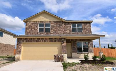 Killeen TX Single Family Home For Sale: $189,950