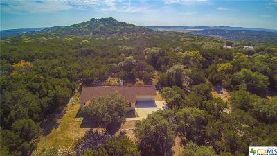 Canyon Lake Single Family Home For Sale: 2334 Johnson