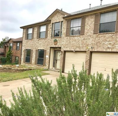 Copperas Cove Single Family Home For Sale: 403 Juniper Circle