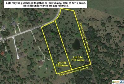 Salado Residential Lots & Land For Sale: Lot 145 Hidden Springs Drive