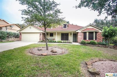 Belton Single Family Home For Sale: 82 Cliffwood