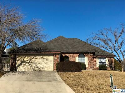 Harker Heights Single Family Home For Sale: 1503 Port