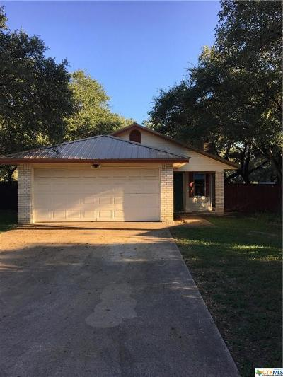 Belton Single Family Home For Sale: 8 Rawhide