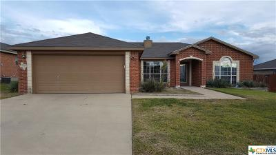Copperas Cove TX Single Family Home For Sale: $139,900