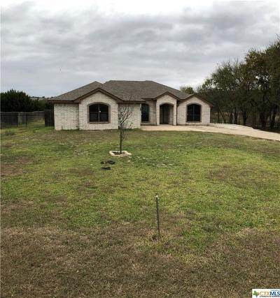 Kempner Single Family Home For Sale: 2825 Fm 116