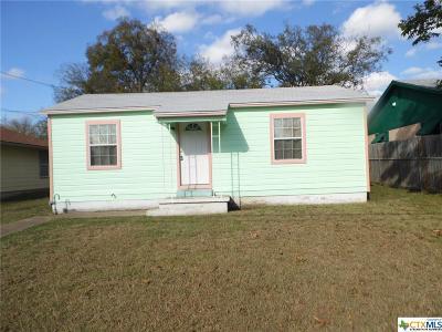 Killeen Single Family Home For Sale: 913 York Avenue