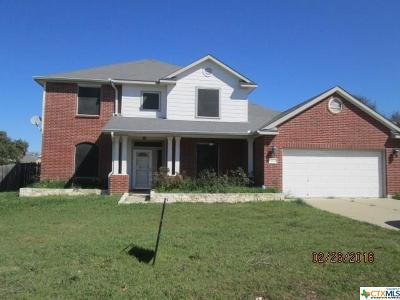 Killeen Single Family Home For Sale: 182 Cross Bend
