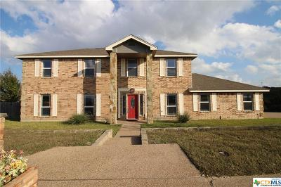 Copperas Cove Single Family Home For Sale: 602 Skyline Drive