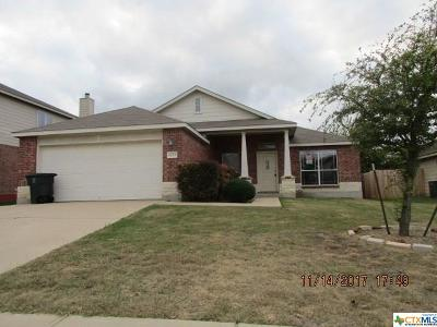Killeen TX Single Family Home For Sale: $107,000