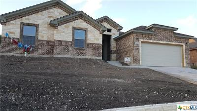 Copperas Cove Single Family Home For Sale: 1065 Republic Circle