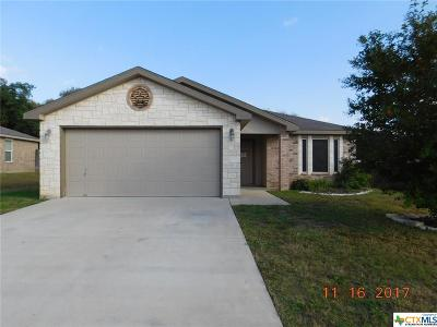 Copperas Cove Single Family Home For Sale: 1117 Dixon Circle