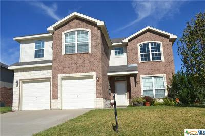 Copperas Cove Single Family Home For Sale: 1312 Cline Drive