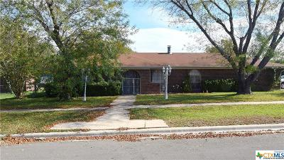 Killeen Single Family Home For Sale: 3101 Willowbend