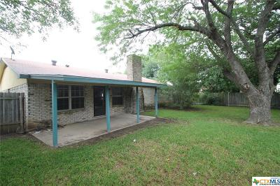 Killeen TX Single Family Home For Sale: $78,500