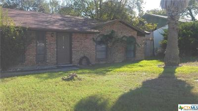 Copperas Cove Single Family Home For Sale: 1503 Cross