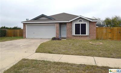 Killeen Single Family Home For Sale: 2313 Gallop