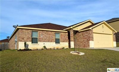 Killeen TX Single Family Home For Sale: $159,990