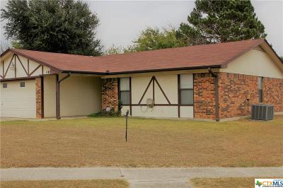 Killeen TX Single Family Home For Sale: $87,500