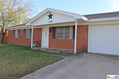 Copperas Cove Single Family Home For Sale: 1105 Sublett Avenue