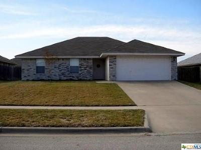 Killeen TX Single Family Home For Sale: $122,995