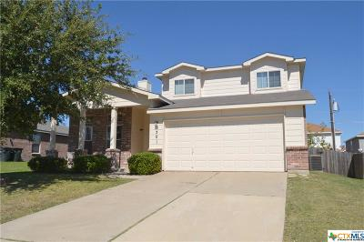 Killeen TX Single Family Home For Sale: $139,000