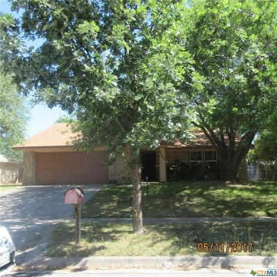 Killeen TX Single Family Home For Sale: $98,500