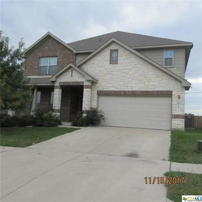 Killeen TX Single Family Home For Sale: $200,500