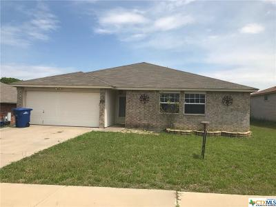 Copperas Cove Single Family Home For Sale: 503 Mesquite Circle