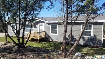 Canyon Lake Single Family Home For Sale: 210 Deer Run Pass