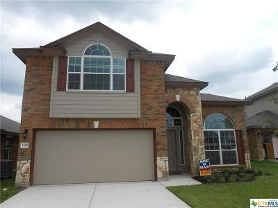 Killeen TX Single Family Home For Sale: $189,582