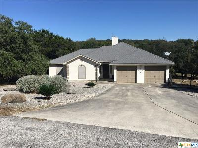 Canyon Lake Single Family Home For Sale: 1527 Valley