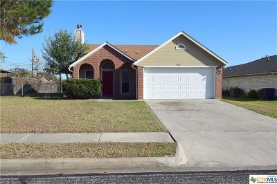 Killeen Single Family Home For Sale: 3210 Carpet