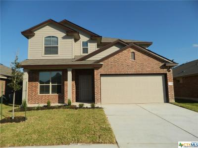 Killeen Single Family Home For Sale: 1304 Gigante Drive