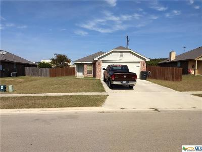 Killeen TX Single Family Home For Sale: $119,000