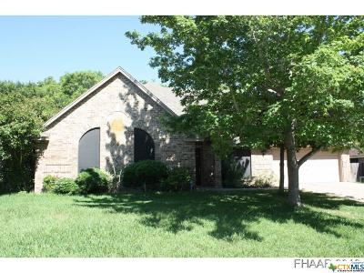 Harker Heights Single Family Home For Sale: 704 Silver Creek Drive