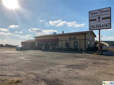 Harker Heights Commercial For Sale: 1100 Fm 2410