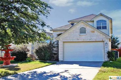 Killeen Single Family Home For Sale: 5008 Golden Gate